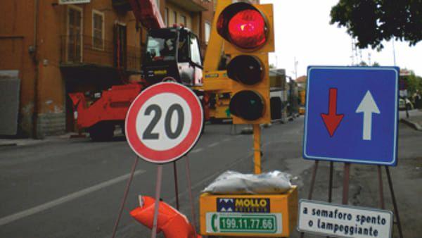Provincia di Siena, La Tognazza: Dal 1 febbraio senso unico alternato provvisorio sulla SR2 CassiaNord