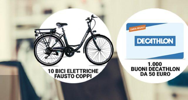 Siena, Monte dei Paschi regala bici elettriche e buoni Decathlon: Il regolamento delconcorso