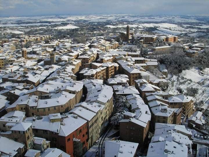 Siena: Piano del Comune di Siena per rischio nevicate tra domenica 10 e lunedi' 11gennaio