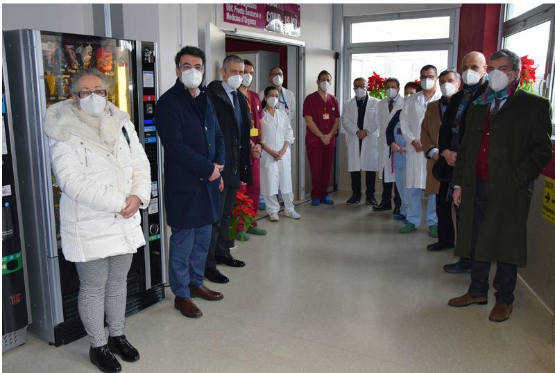 Siena: Visita del Procuratore Generale di Firenze, Marcello Viola, ai professionisti impegnati nell'emergenzaCovid