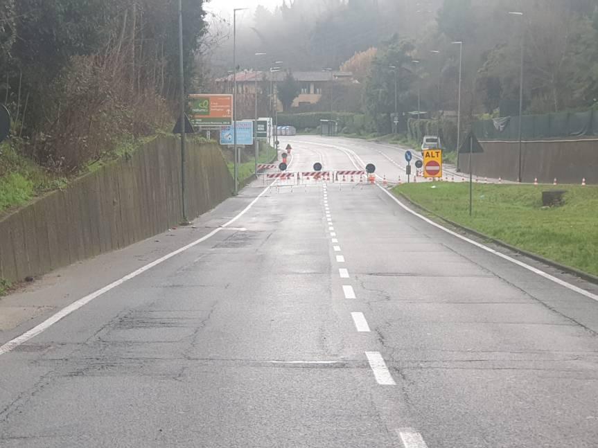Provincia di Siena: Frana in Pescaia, strada resta chiusa in attesa della messa insicurezza