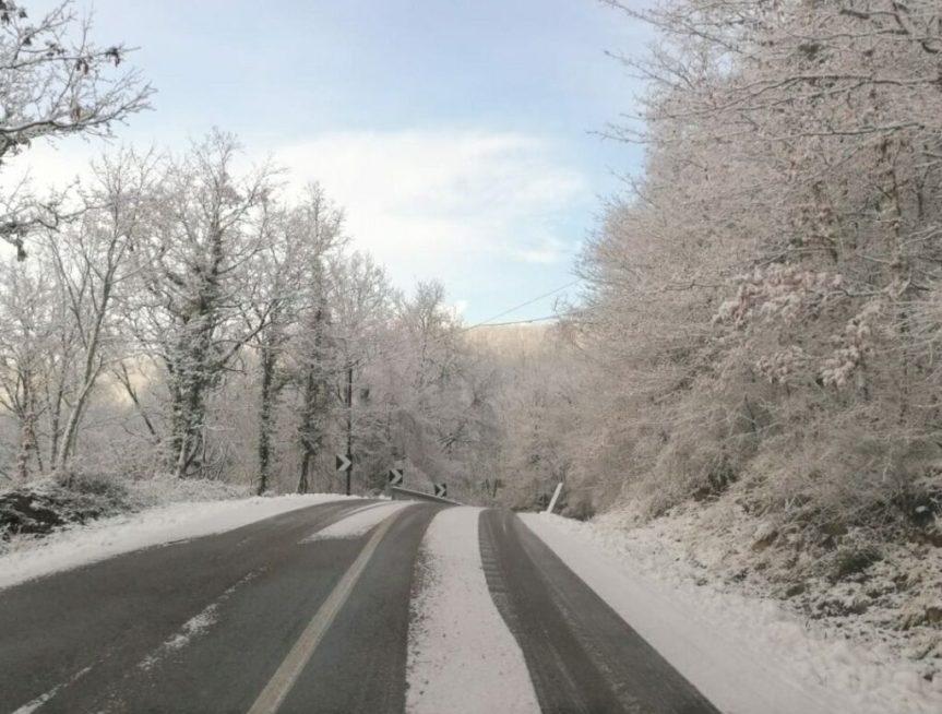 Provincia di Siena: Lavoro incessante sulle stradeinnevate