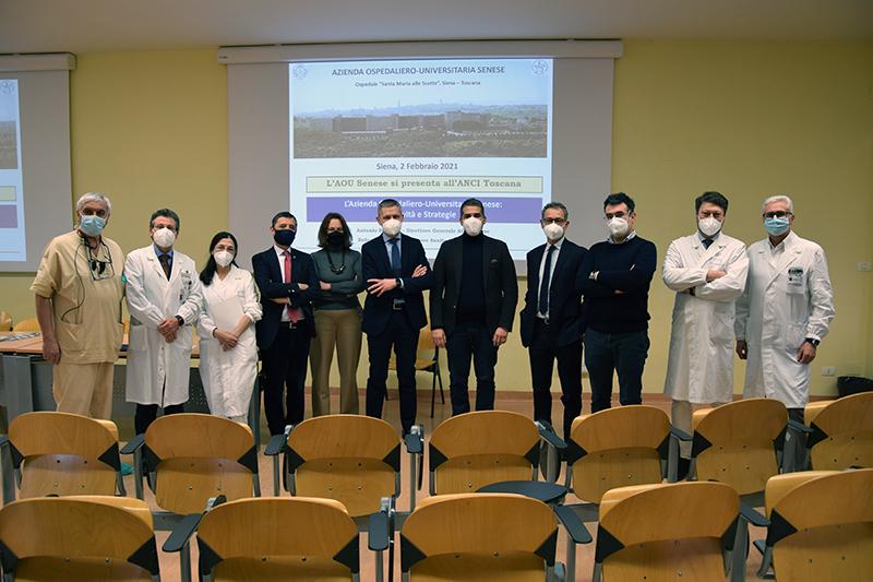 Siena, ANCI Toscana e Aou Senese: Confronto fattivo ecostruttivo