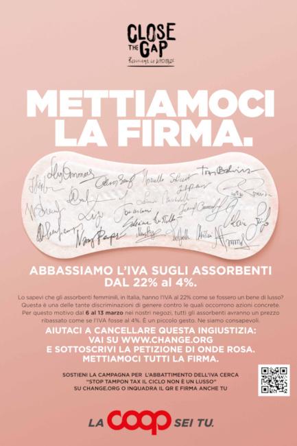 """Toscana, COOP, al via """"Close the Gap – riduciamo le differenze"""" campagna per promuovere la parità digenere"""