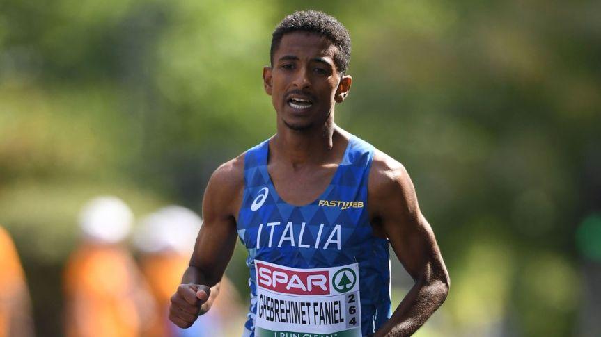 Provincia di Siena: Eyob Faniel stabilisce il record italiano nella mezza maratona adAmpugnano
