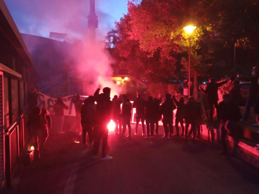 Siena, Acn Siena: Oggi 11/02 l'incitamento dei tifosi allasquadra