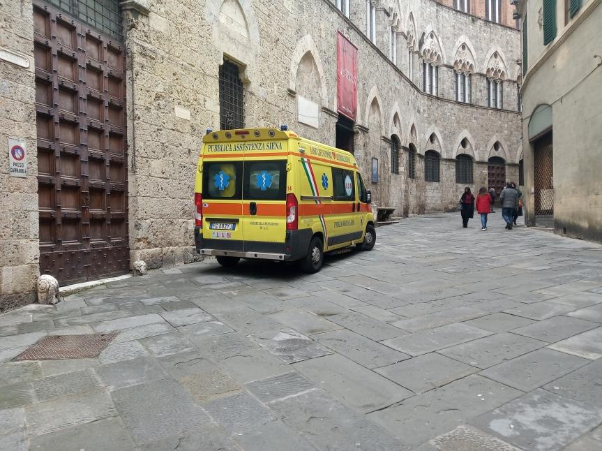 Siena e Provincia, Numero unico di emergenza 112: Non più attivo il 118 per ambulanze e mezzisanitari
