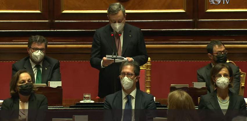 Italia: Il testo delle dichiarazioni programmatiche del Presidente Draghi alSenato