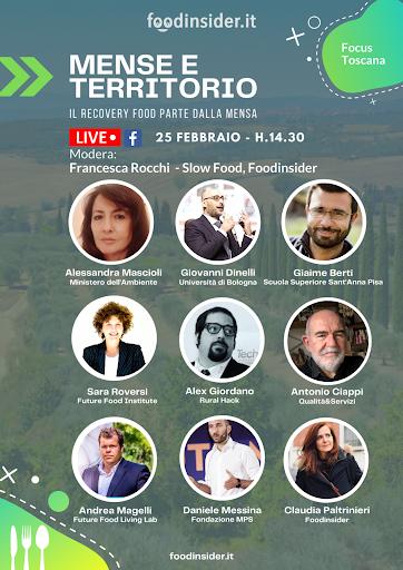 """Siena: Fondazione Mps partecipa al talk virtuale """"Mense e Territorio"""" diFoodinsider"""