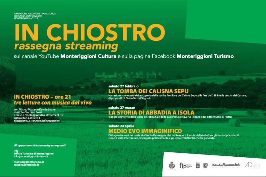 Provincia di Siena: Covid e cultura, Monteriggioni e il teatromultimediale
