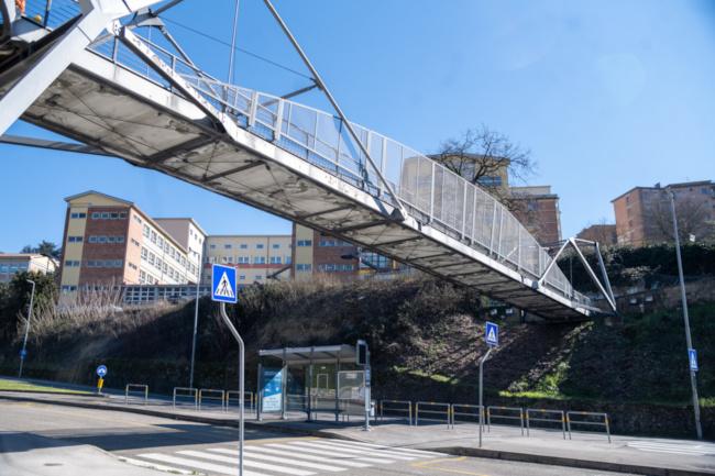 Siena: Approvato il progetto di fattibilità tecnica ed economica dei lavori di manutenzione straordinaria della passerella e torretta di Strada diPescaia