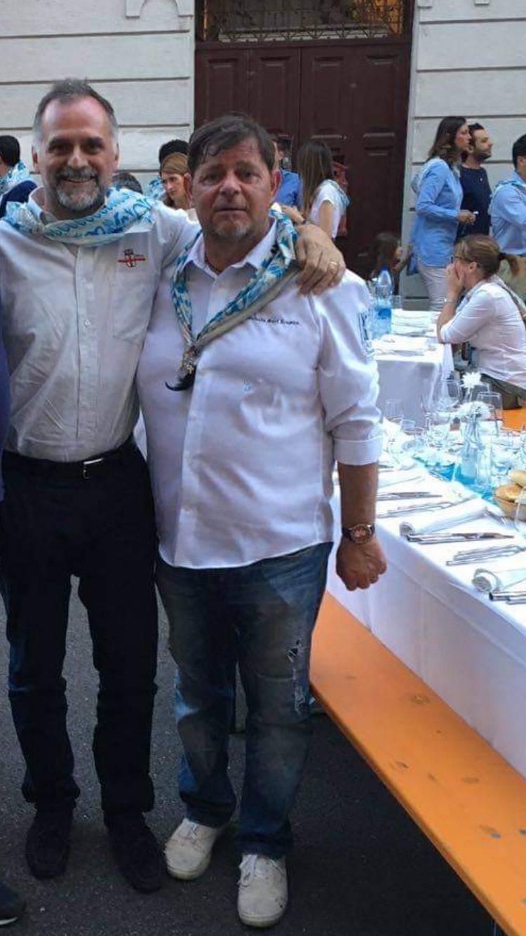 Palio di Legnano, Contrad Sant'Erasmo: La Contrada fa i complimenti ai neo Ministri Massimo Garavaglia e GiancarloGiorgietti