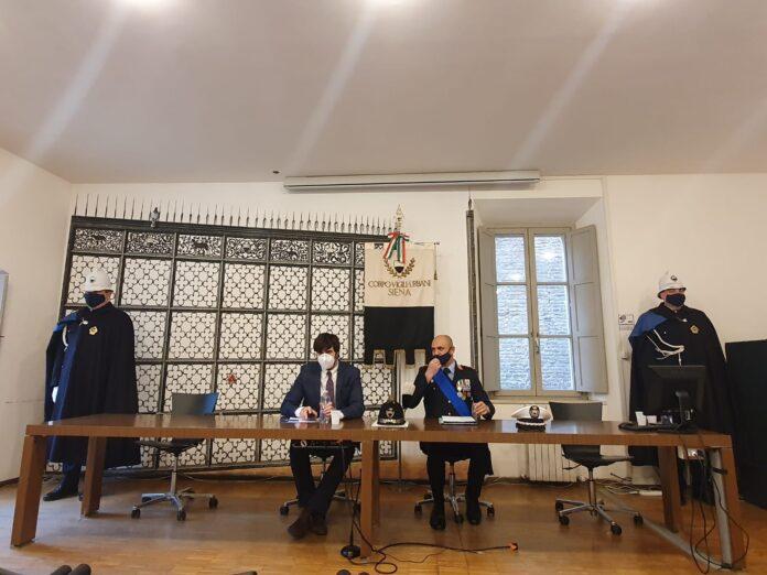 """Siena, Bilancio 2020 della Polizia Municipale, il Comandante: """"Siena, grande sensocivico"""""""
