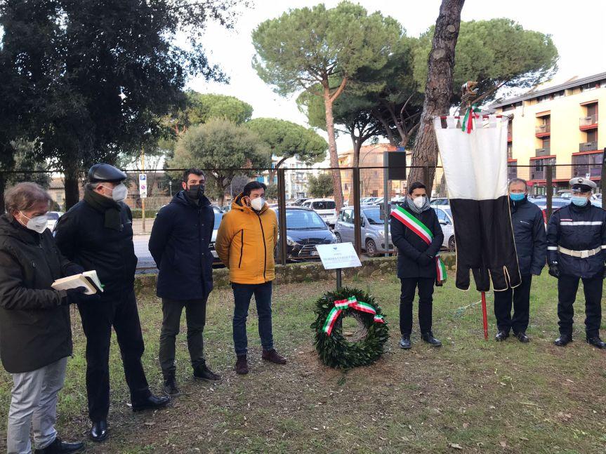 Siena: Giorno del Ricordo, commemorazione al parco NormaCossetto