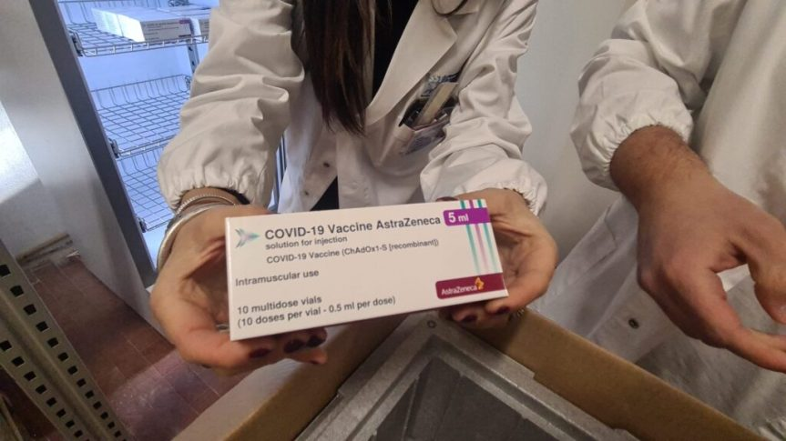 Toscana, Covid-19: Oggi 11/02 le prime 1.989 vaccinazioni conAstraZeneca