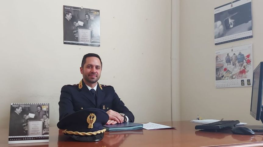 Siena, Digos, cambio al vertice: Ecco il Commissario Capo ValerioD'Adamo