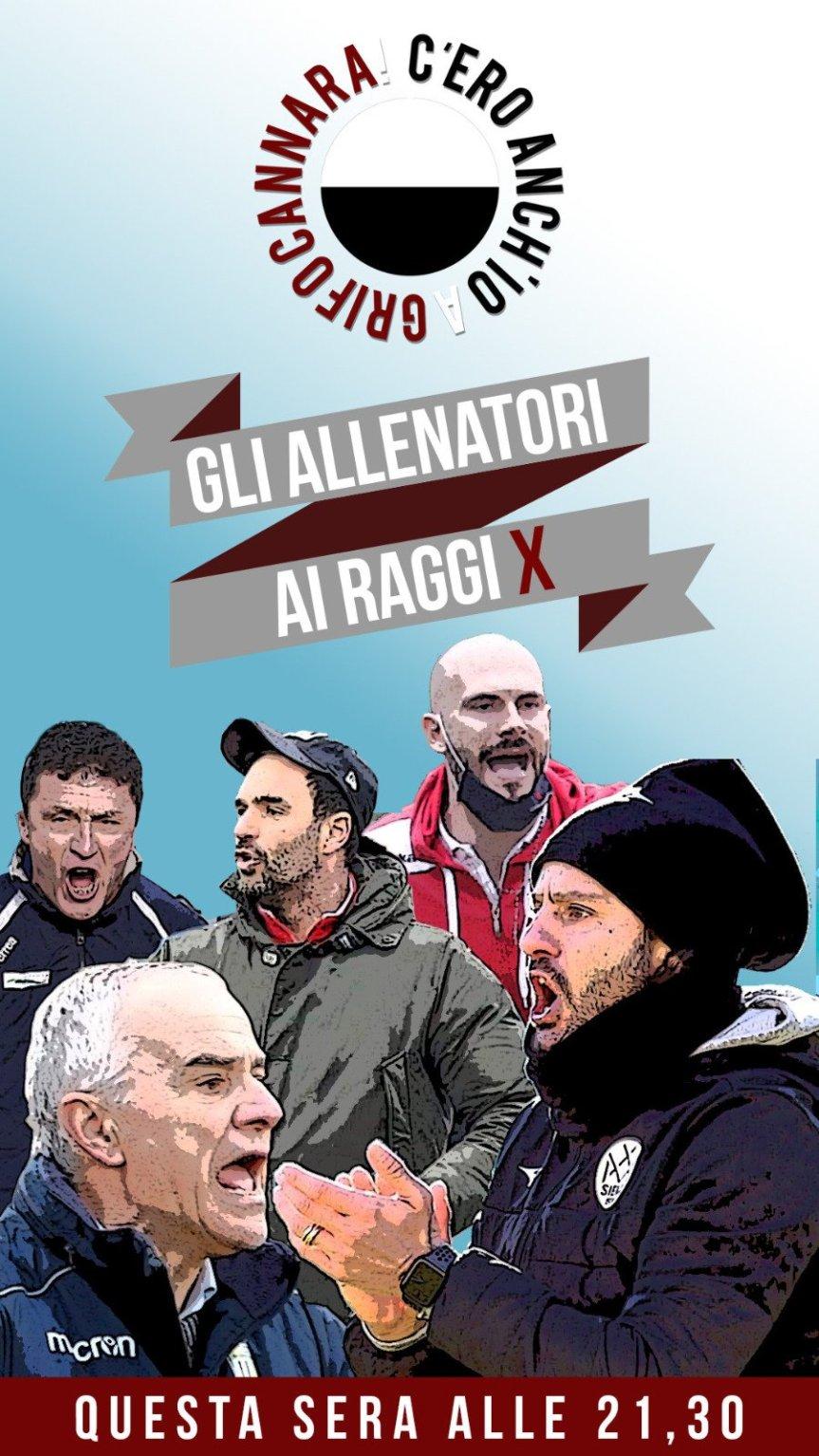"""Siena, Acn Siena: Oggi 16/03 C'ero anche io a Grifo Cannara, questa sera """"gli allenatori ai raggiX"""""""