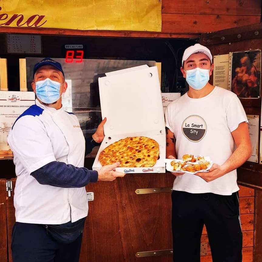 """Siena: Nasce la collaborazione fra """"Pizzaland"""" e le """"Frittelle Savelli"""""""