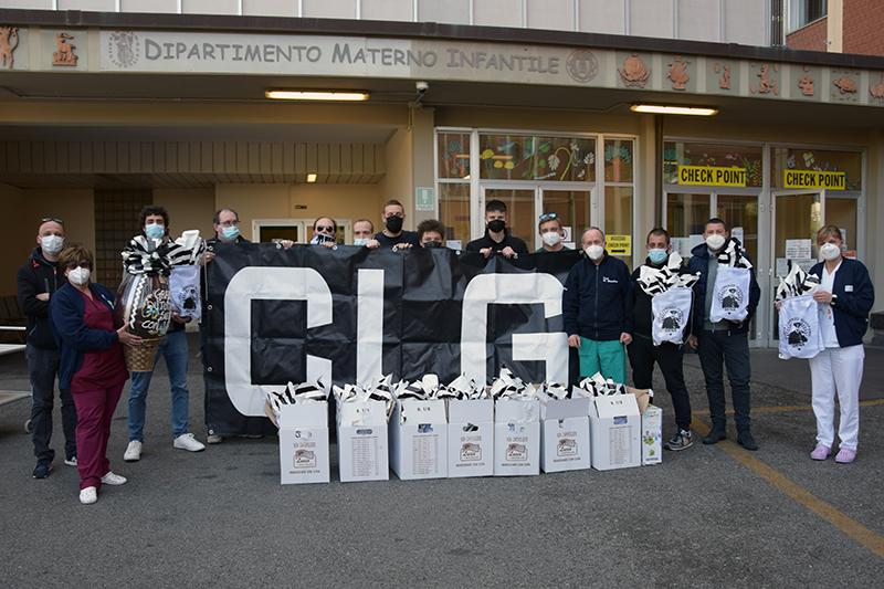 Siena, Acn Siena: Oggi 29/03 Comunicato Stampa Curva Lorenzo Guasparri su consegna uova RepartoPediatria