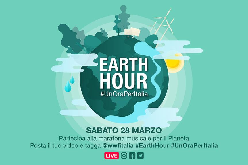 """Siena: La nostra città si schiera con la natura partecipando, il prossimo 27 marzo, all'iniziativa """"Earth hour-l'ora della terra"""" delWWF"""