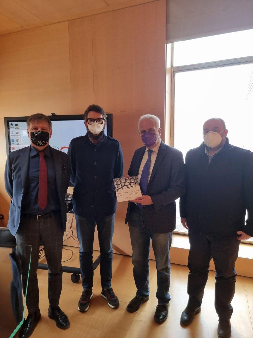 Siena: Oggi 09/03 Giani, De Mossi e Franceschelli in visita allaTls