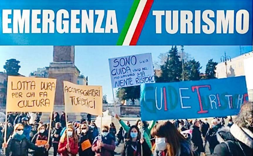 Italia: Oggi 03/03 Comunicato Stampa Gruppo Autonomo Guide e Accompagnatori Turistici esclusi dal fondo perduto delMibact