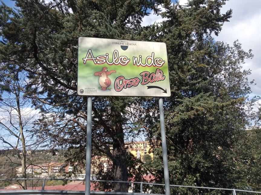 Siena: Iniziano il 15 aprile le iscrizioni agli asili nido comunali per l'anno educativo2021/2022