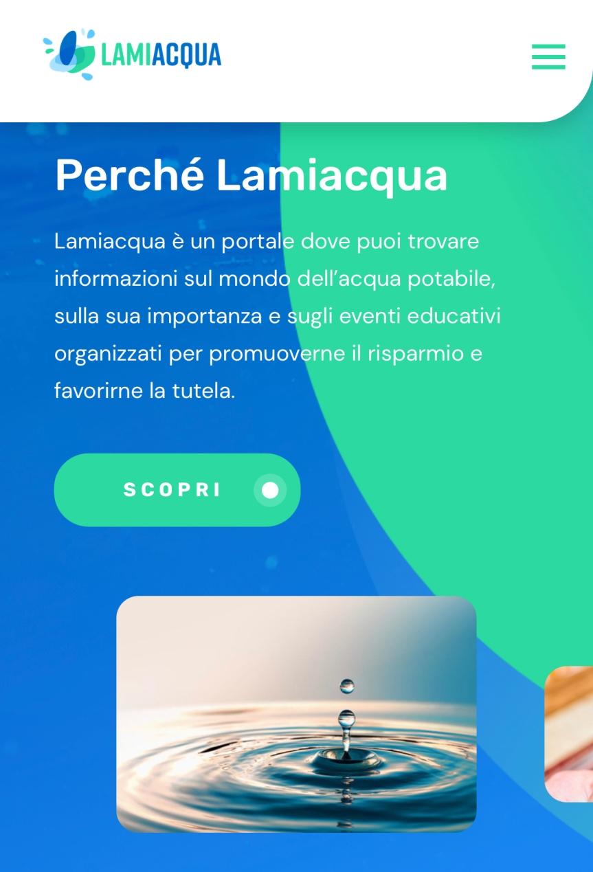 """Provincia di Siena: Nuove Acque lancia """"Lamiacqua"""", la piattaforma che illustra le informazioni e le curiositàsull'acqua"""