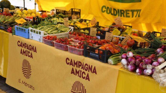 Siena, Coldiretti contro l'ansia da coronavirus: Arriva la primavera anche al mercato di CampagnaAmica