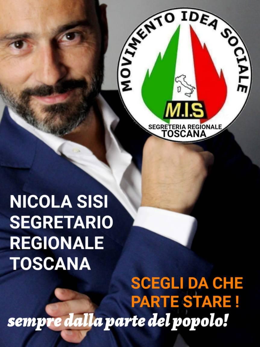 Siena, Mis: Nicola Sisi è il nuovo Segretario Regionale dellaToscana