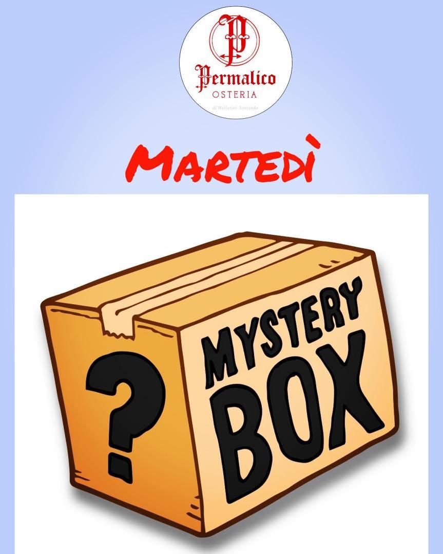 """Massi Lo Sà, Sponsor: Ristorante Permalico  tutti i martedì lancia la """"MysteryBox"""""""