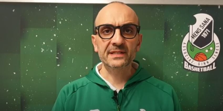 Siena: Coach Binella (Mens Sana) in vista del derby con il Costone