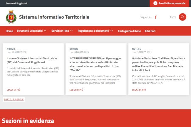 Provincia di Siena: Poggibonsi smart, il Comune rinnova il Sistema InformativoTerritoriale