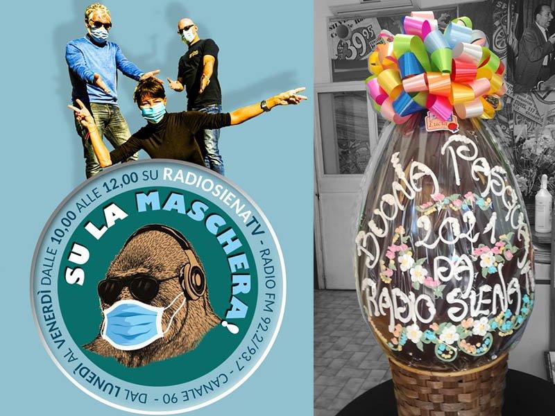Siena, Pasqua: Gioca e vinci conRadioSienaTv
