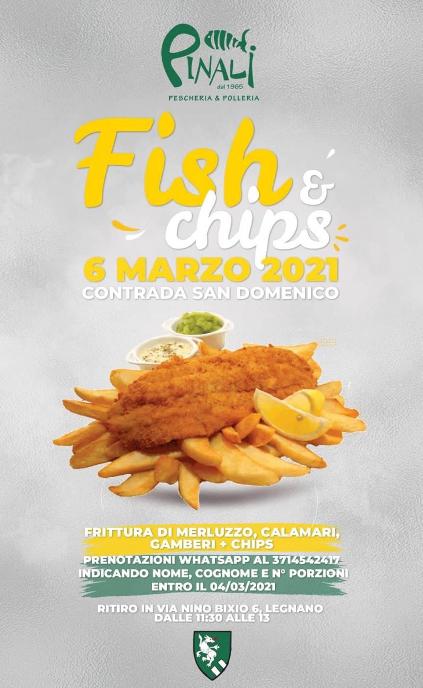 """Palio di legnano, Contrada San Domenico: 06/03 """"Fish&Chips"""""""