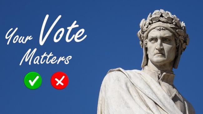 """Siena: """"Scegli il tuo Dante"""", voto on line per il miglior disegno originale realizzato dagli studentisenesi"""