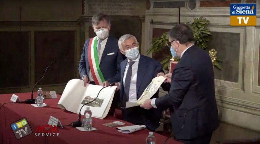"""Siena: Capodanno Senese, Siena trionfa immortale. Rappuoli: """"Da qui contributo al mondo per l'antiCovid"""""""