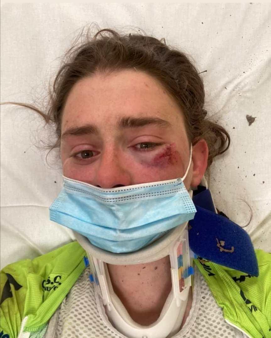 Siena: Strade Bianche, tanta paura per la ciclista LetiziaBorghesi