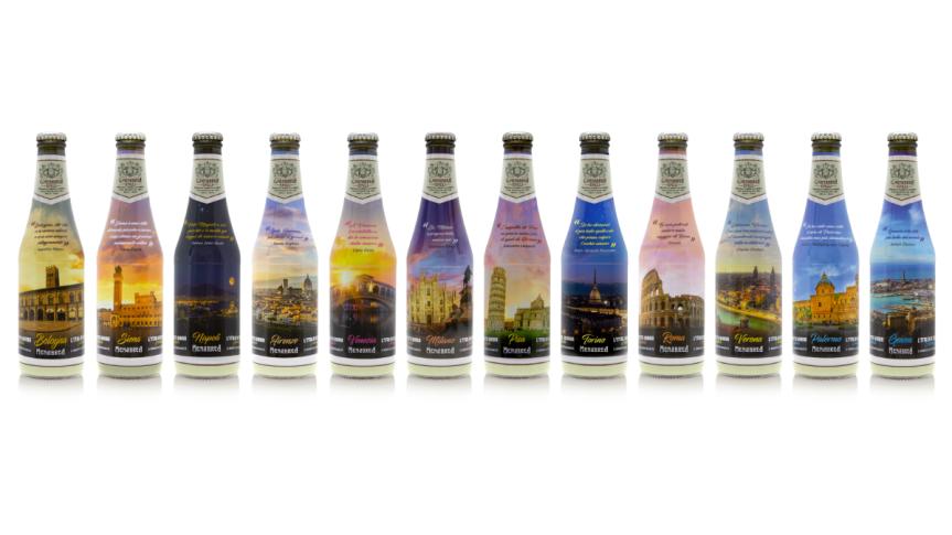 Siena, Arte in bottiglia e sulla bottiglia: La limited edition di Birra Menabrea celebraSiena