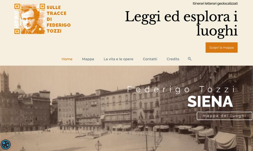 Siena: I luoghi senesi delle opere di Federigo Tozzi ora in una mappainterattiva