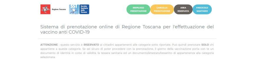 Toscana: Nessun attacco hacker al sistema di prenotazione vaccini. La Asl Toscana sud est smentisce le false informazioni circolate suFacebook