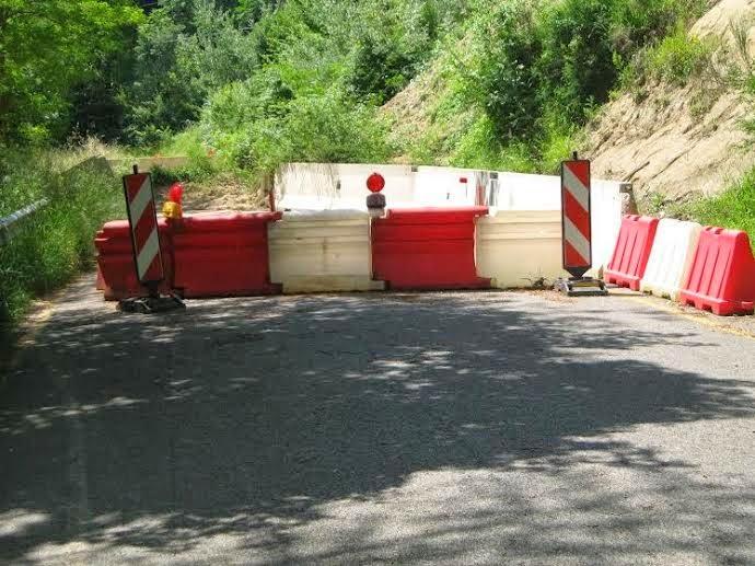 Siena: Strada di Terrensano e Belcaro, da domani 1 aprile chiuso un tratto per ripristino movimentofranoso