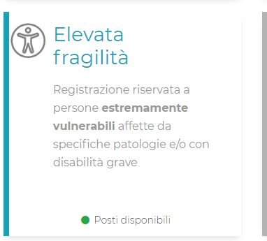 Toscana: Vaccini, riapre il portale per la preadesione delle persone con elevatafragilità