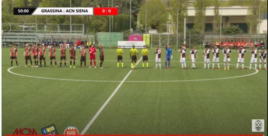 Siena, Acn Siena: Oggi 21/04 i bianconeri vendicano l'andata, Grassina-Siena0-1