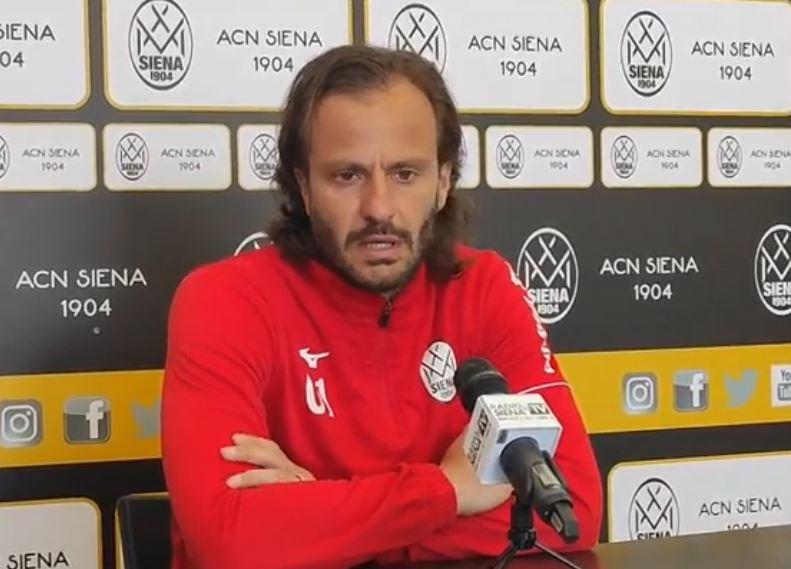 """Siena, Acn Siena, Gilardino: """"Bel test con il Montevarchi. Perinetti? Persona di esperienza, ma non soniente"""""""