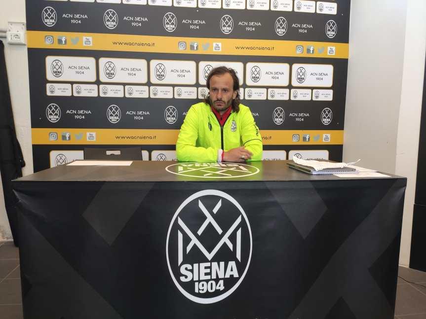 Siena, Acn Siena: I Convocati di mister Gilardino per gara conMontespaccato