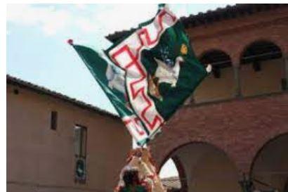 Siena, COntrada dell'Oca: Dal 24/04 riprendono i corsi per Alfieri eTamburini
