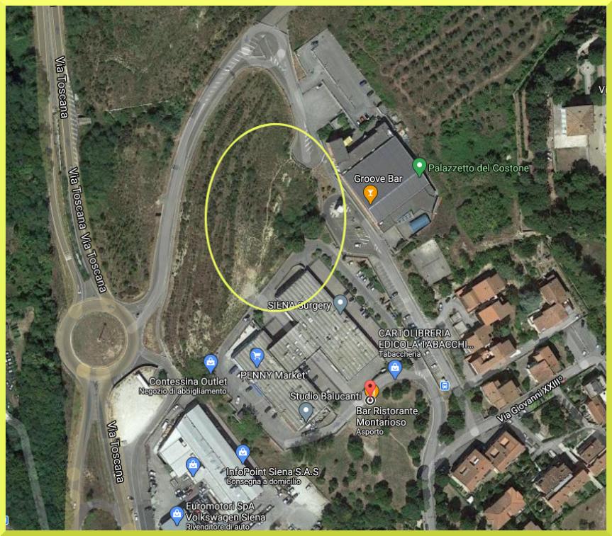 Provincia di Siena: Montarioso, nuovo parcheggio e completamento dellaviabilità