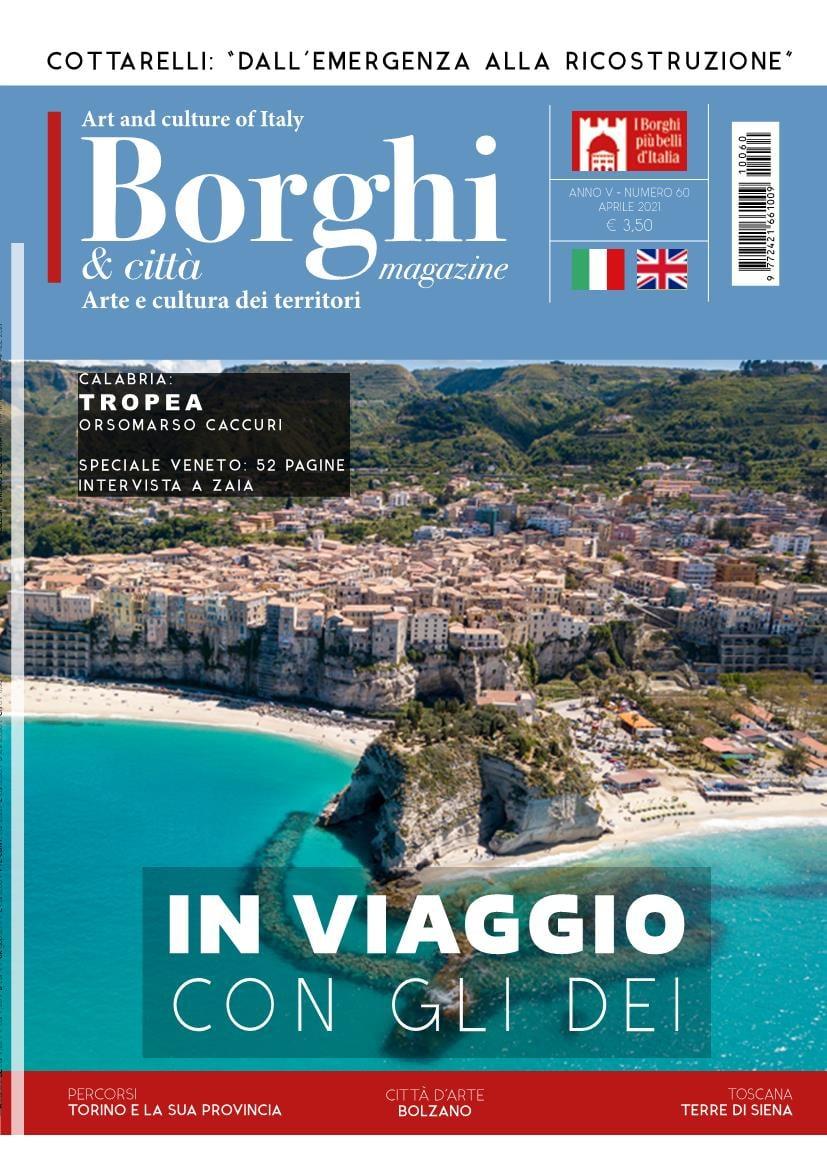 """Siena: Terre di Siena sul n.9 del magazine """"Borghi &Città"""""""
