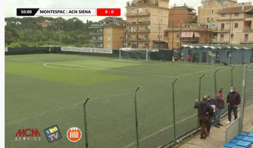 Siena, Acn Siena: Oggi 28/04 i bianconeri steccano, Montespaccato-Siena 2-0, però arbitraggiocontestato